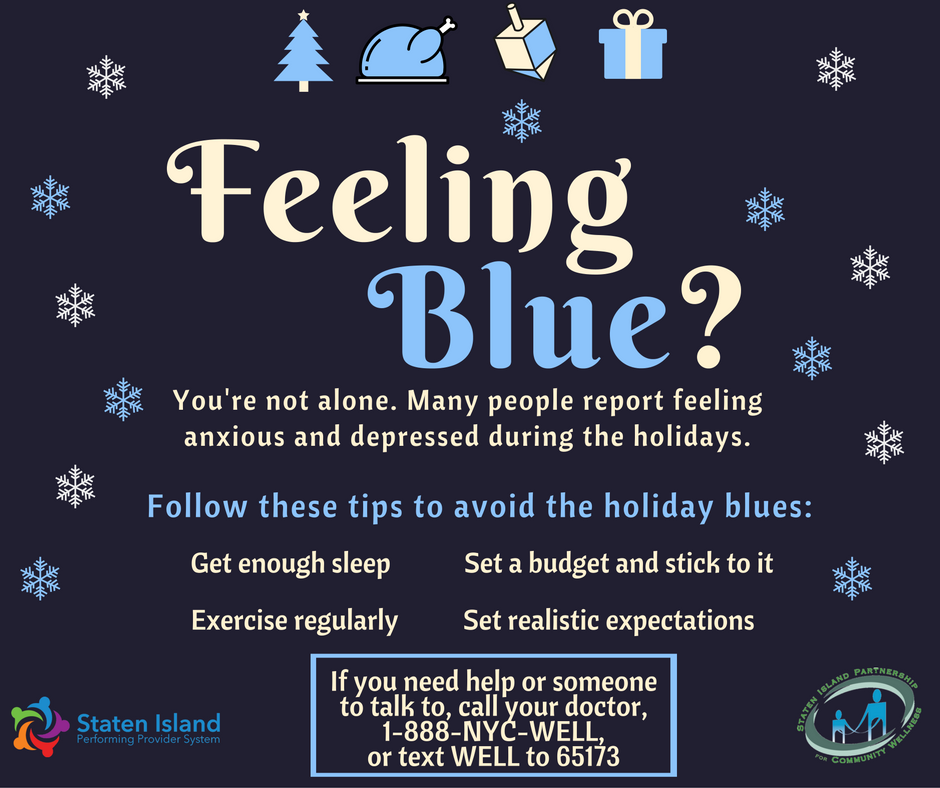 holiday blues Bogged down by the holidays blues you're not the only one experts offer ways to rescue the season.